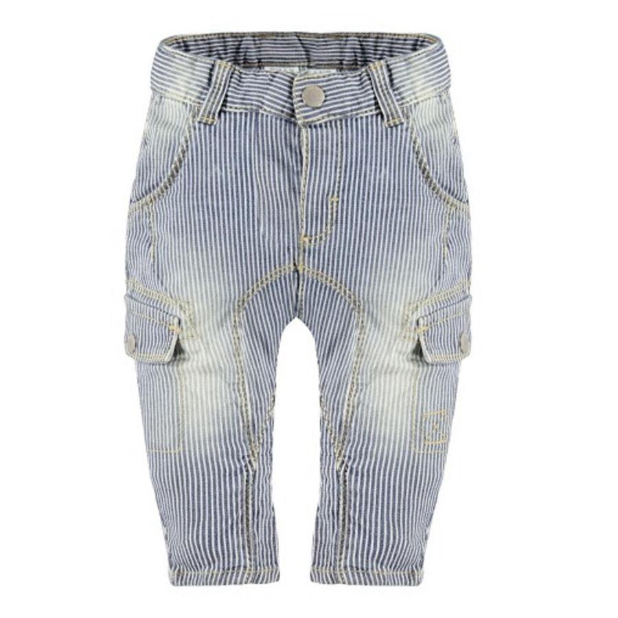 KANZ Boys Pantalon à rayures bleu