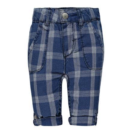 KANZ Boys Pantalon à carreaux bleu
