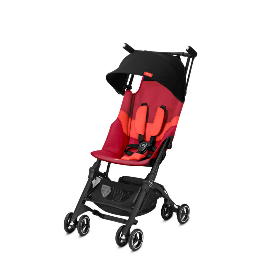 gb GOLD Buggy Pockit Plus All Terrain - Rose Red
