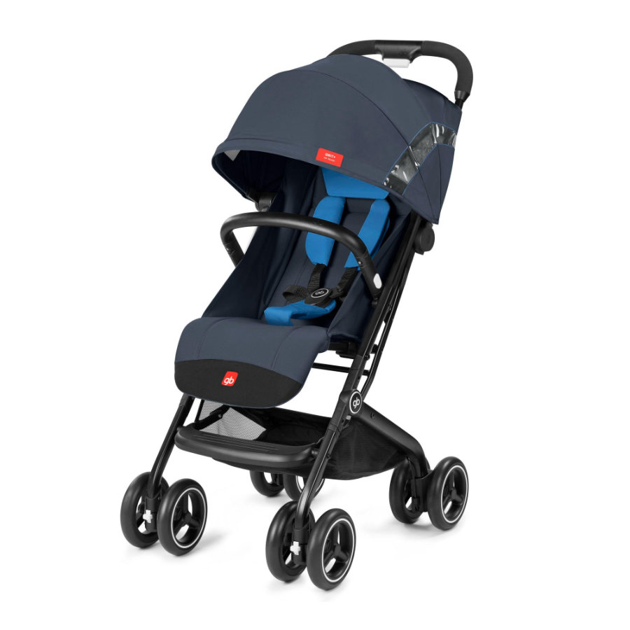 gb GOLD Passeggino leggero Qbit Plus All Terrain - Night Blue, navy blue