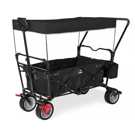 Pinolino Bolderwagen Inklapbaar Paxi dlx Comfort met remmen zwart