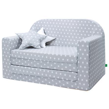 LULANDO Sofa dziecięca Classic, grey