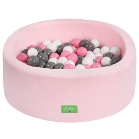 LULANDO Piscina di palline per bambini, rosa