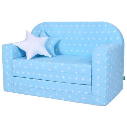 LULANDO Classic Sofá para niños, azul claro