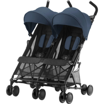 Britax Poussette-canne double Holiday bleu marine, 2019