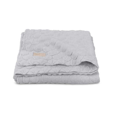 jollein Deken Fancy Knit Soft Grey 75x100cm