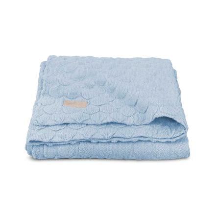 jollein Kocyk Fancy Knit Baby Blue 100x150cm