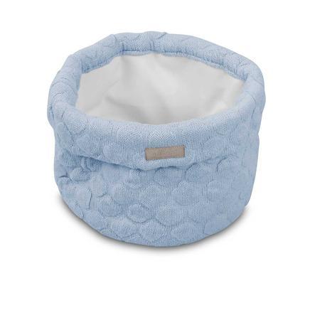 jollein Utensilo Fancy Knit Baby Blue