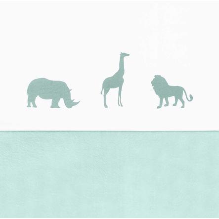 jollein Lakan Safari Forest Green 75x100cm