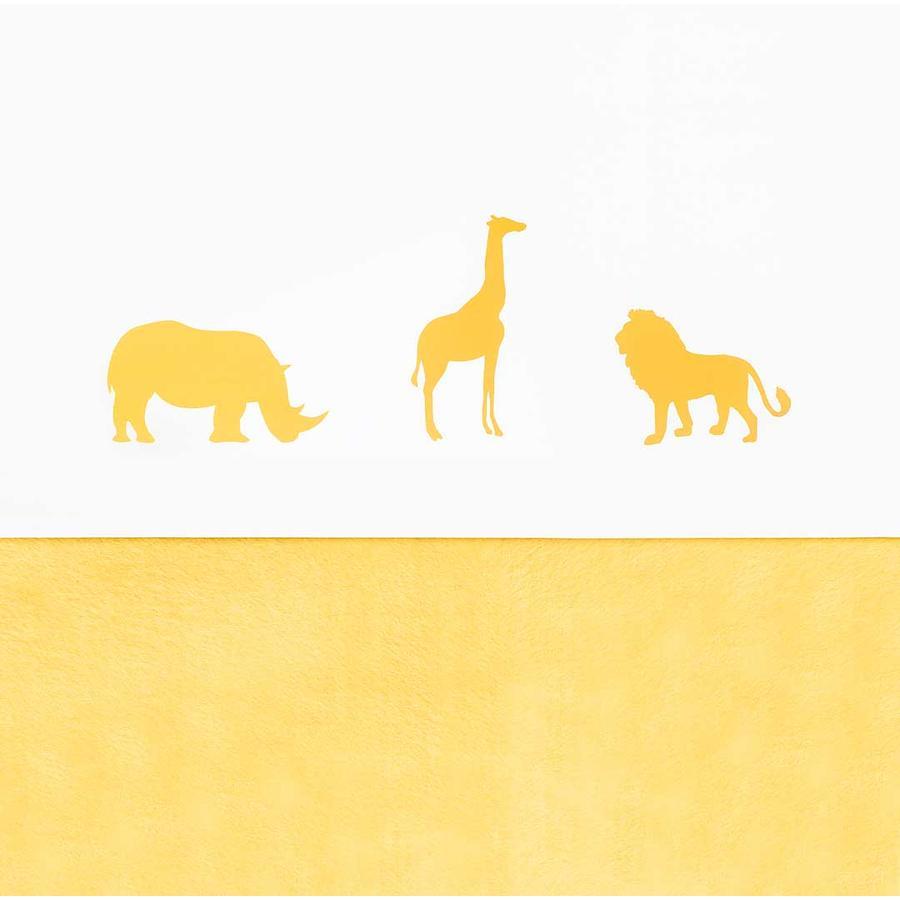 jollein Prześcieradło Safari Ocher 120x150cm