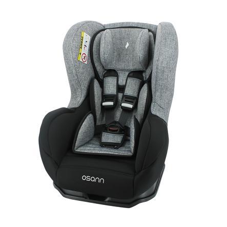 osann Silla de coche Safety Baby Black Melange Grey Mottled