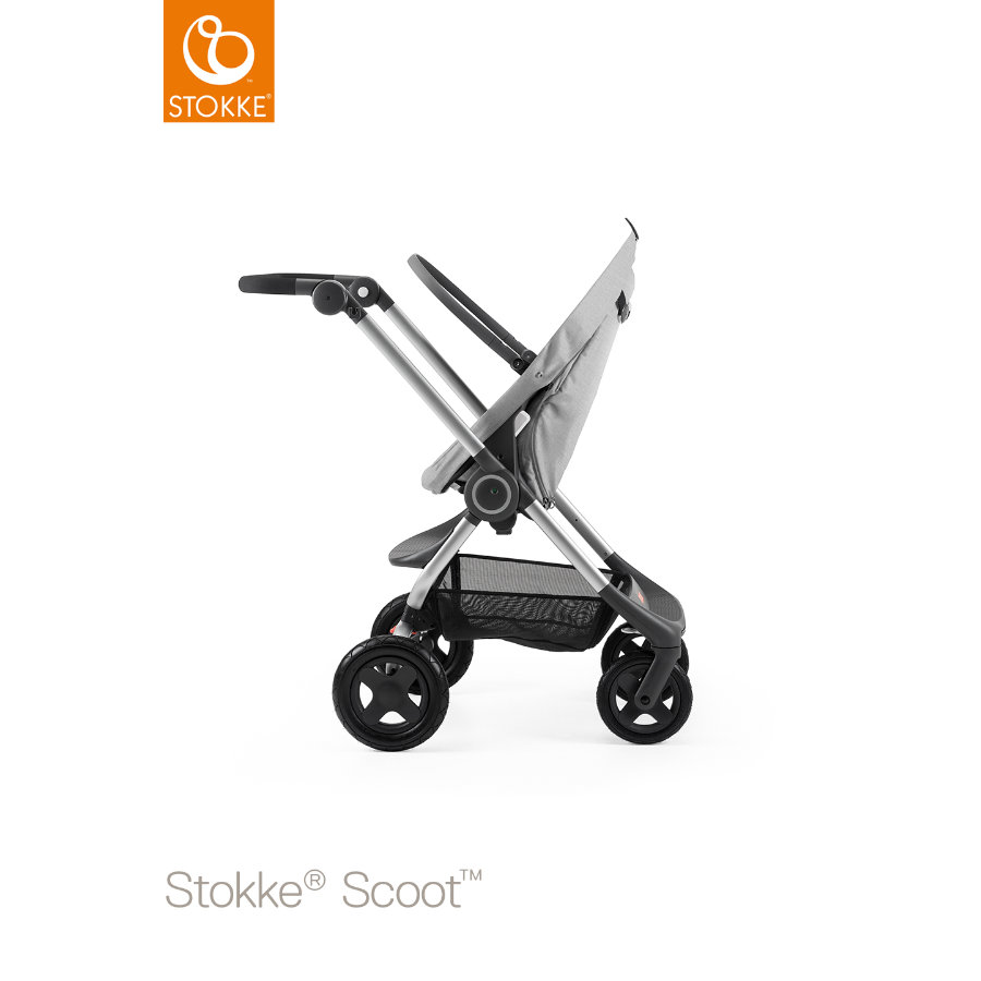 STOKKE® Scoot™ Gestell inklusive Sitz Grey Melange
