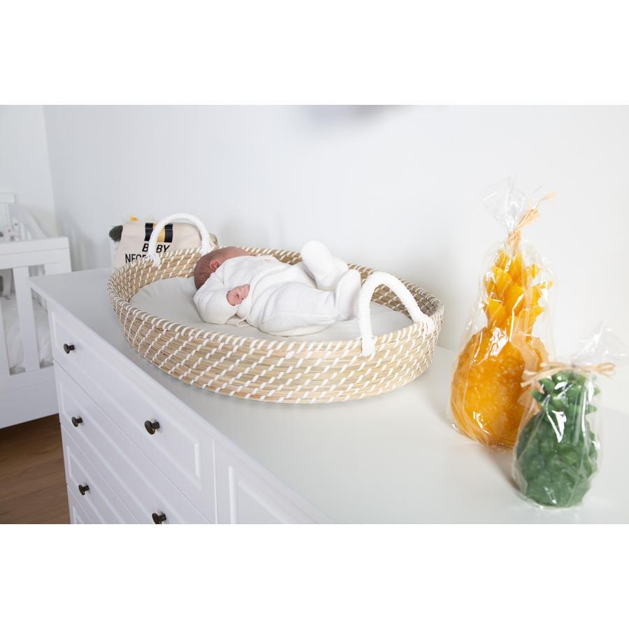 CHILDHOME Couffin à langer, matelas bébé 73x50x10 cm