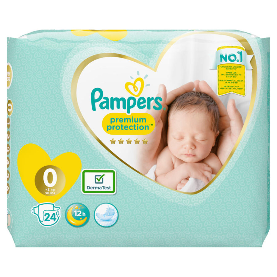 Pampers New Baby Micro (1 - 2,5 kg) 24 unidades