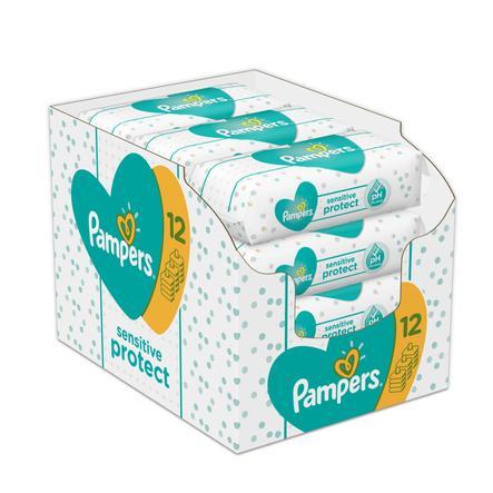PAMPERS Salviettine umidificate Sensitive pacco convenienza 12 x 624 pezzi