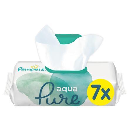 PAMPERS Salviettine umidificate Aqua pacco convenienza 7 x 48 pezzi
