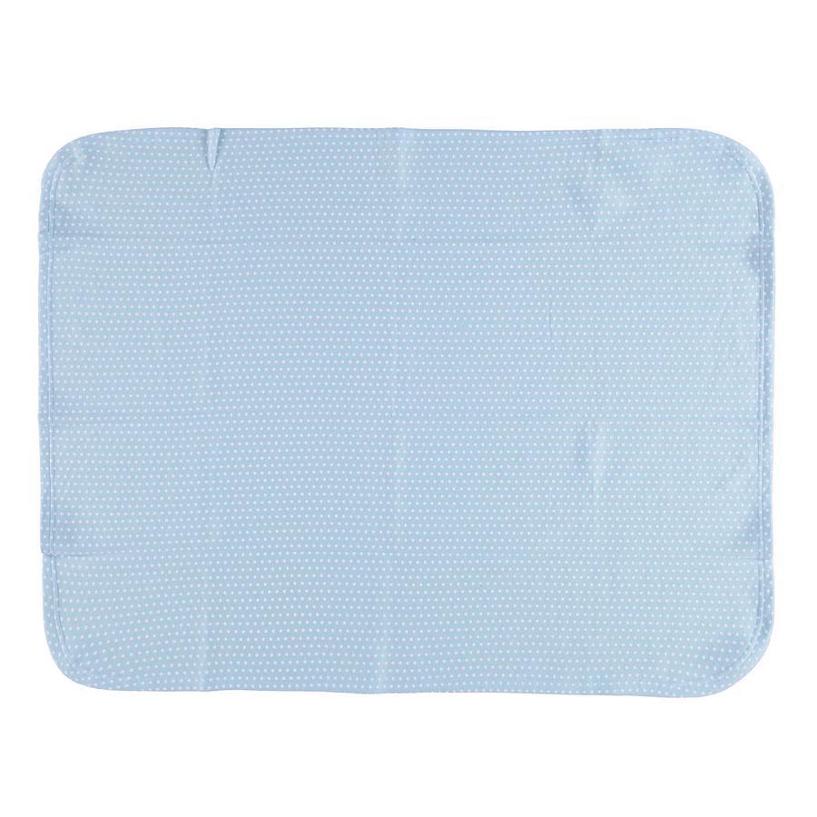 LITTLE Fleece deka STAR 75x100cm modrá