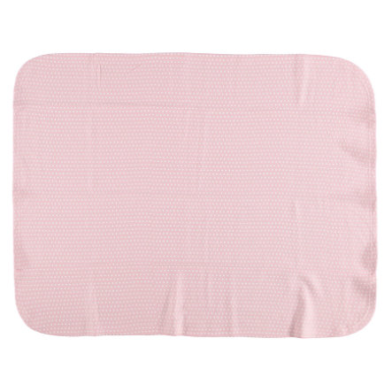 LITTLE  Coperta in pile STAR vecchio 75x100cm 75x100cm rosa
