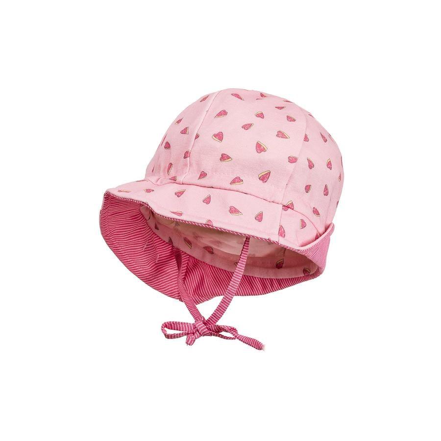maximo Girls klobouček srdíčka růžový-růžový