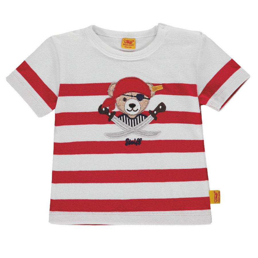 Steiff Boys T-Shirt Rouge Pirate