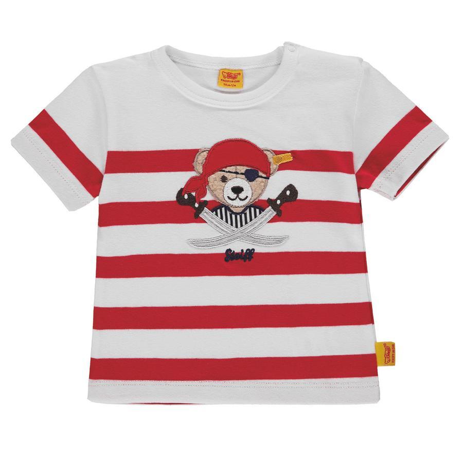 Steiff Poikien T-paita Merirosvo punainen