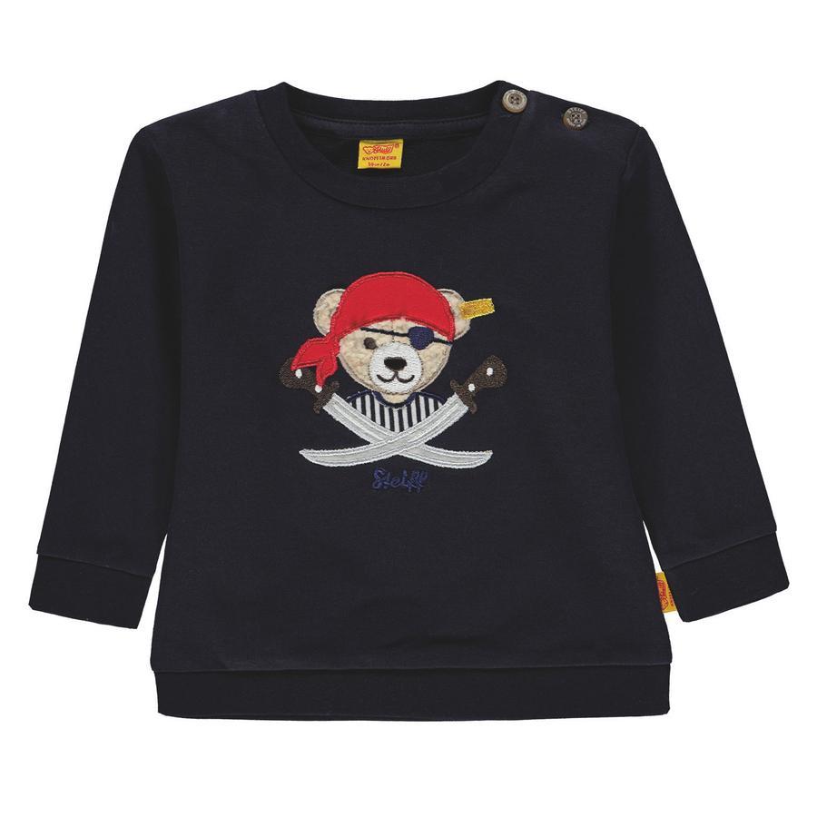 Steiff Boys Sweatshirt, Pirat marine