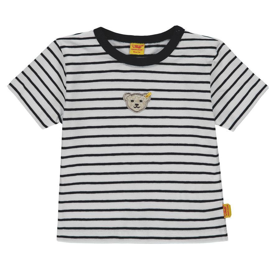 Steiff Boys T-Shirt, Ringel marine