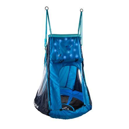 HUDORA® Balançoire nid enfant Cosmos LED 90 bleu 72151