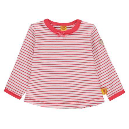 Steiff Girls Langermet skjorte, striper rødt