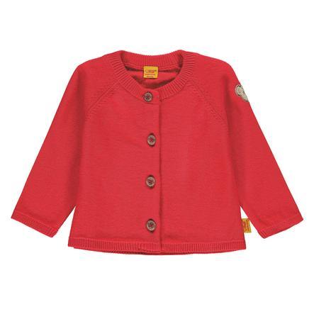 Steiff Girl s Cardigan, rojo