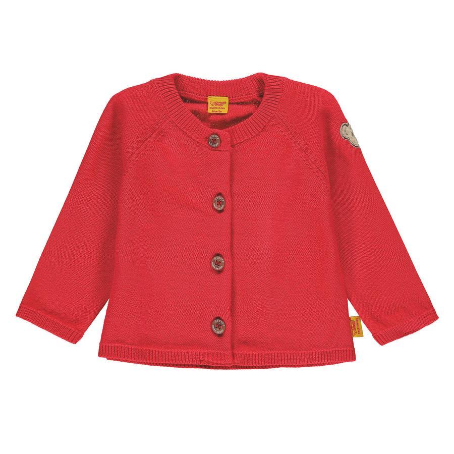 Steiff Girl Cardigan s, rouge
