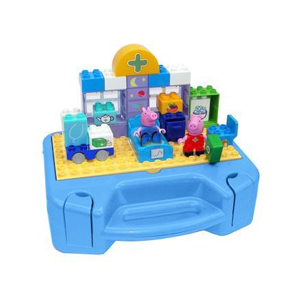 BIG PlayBIG Bloxx Peppa Pig - Briques enfant mallette docteur