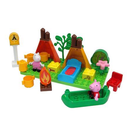 BIG PlayBIG Bloxx Peppa Pig - Briques enfant kit camping