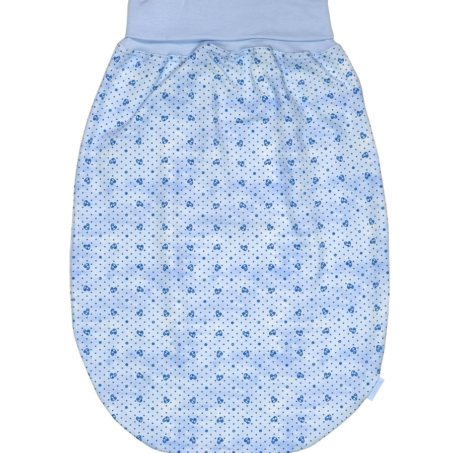 maxi mo sacchetto rompicapo Jersey bianco-blu scuro