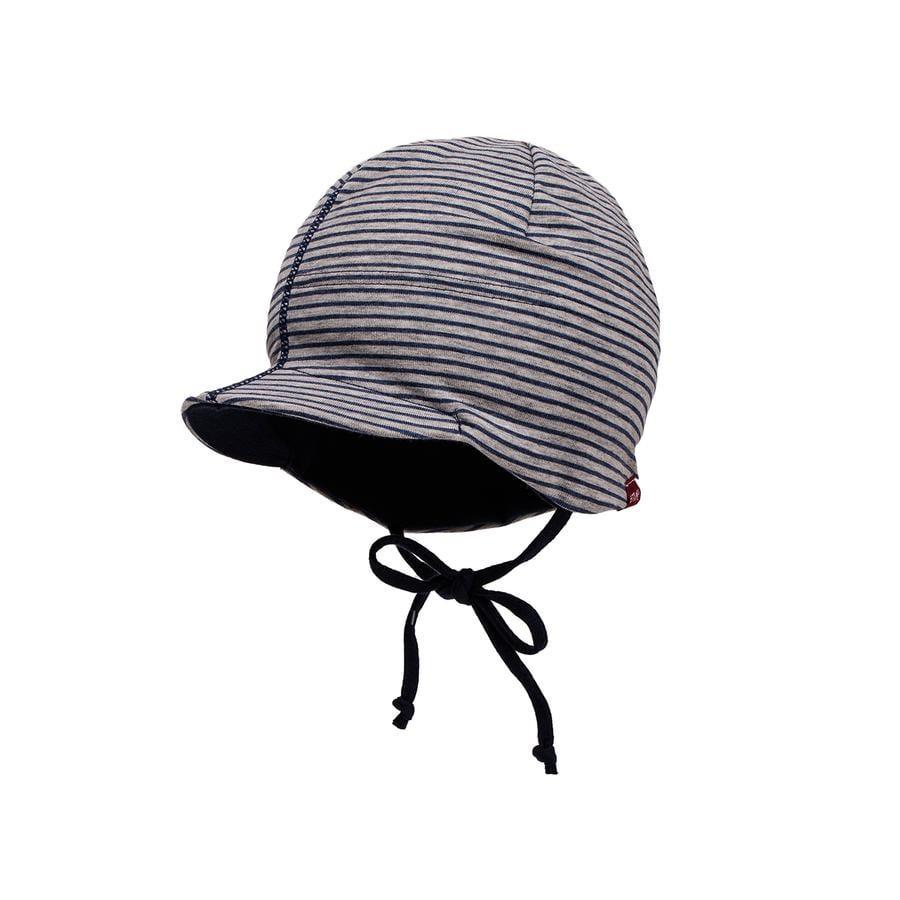 maximo Boys Mini-Mütze graumel./navy