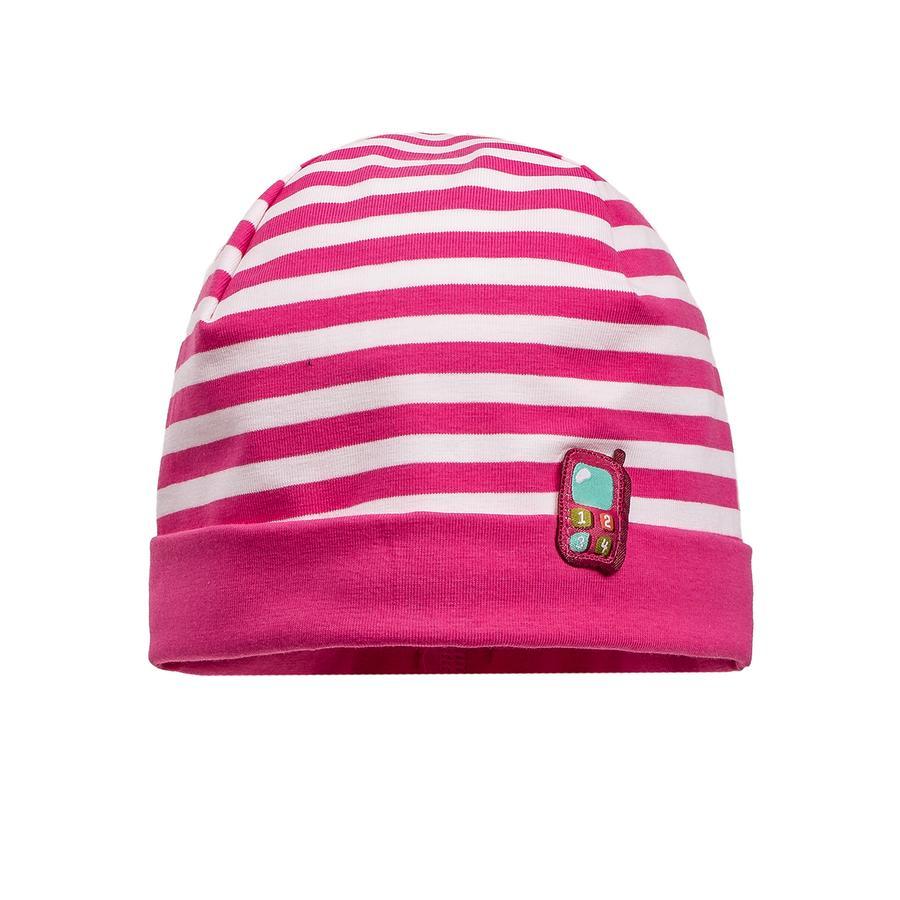 maximo Girls Mini-Mütze pink-weiß