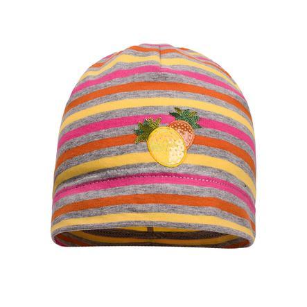 maximo Girls Beanie Streifen korall-multicolor