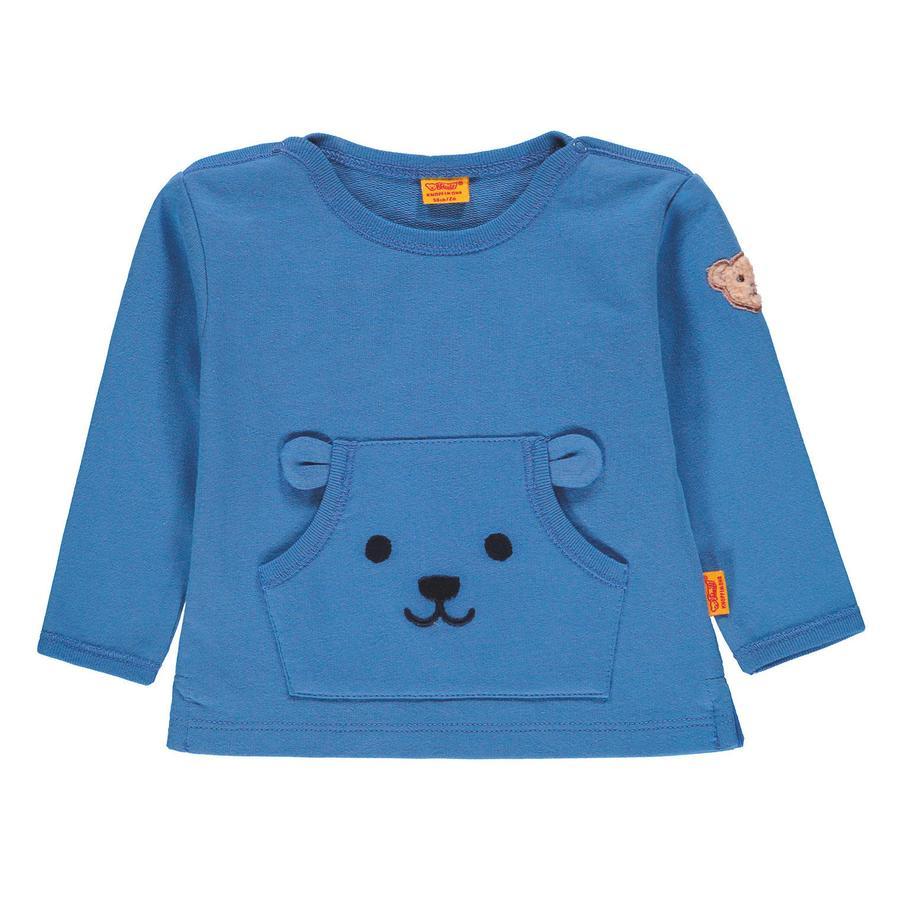Steiff Boys Sweat-shirt, bleu clair