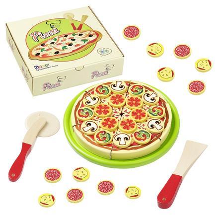 howa® Schneidepizza aus Holz