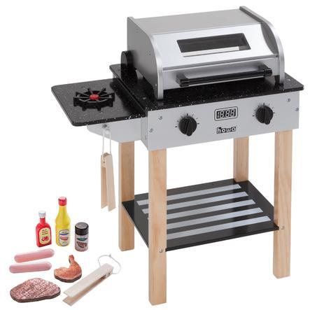 howa® Kinderbarbecue Max met houten accessoires