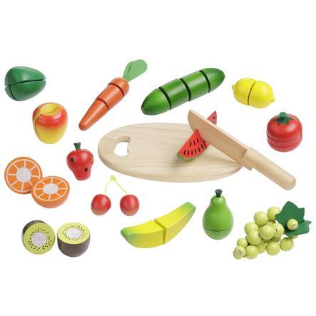howa Skjære sett frukt og grønnsaker