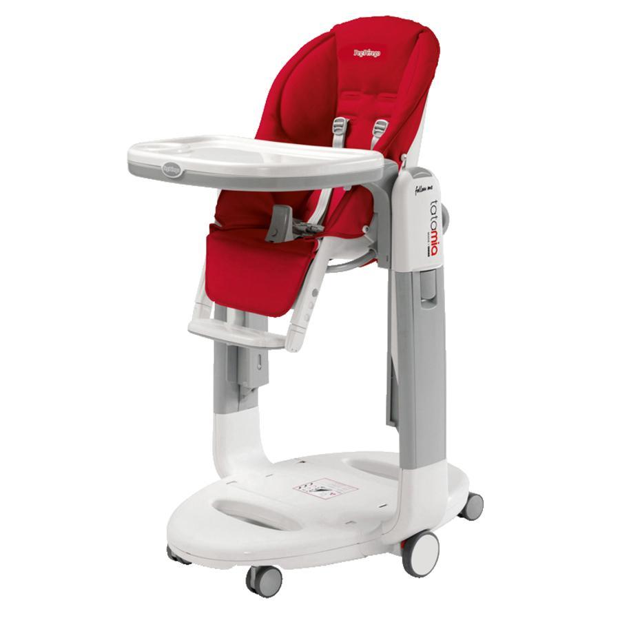 Kinderstoel Om Aan Tafel Te Hangen.Pe Perego Kinderstoel Tatamia Follow Me Fragola Imitatieleer