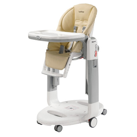 Peg-Perego Chaise haute bébé Tatamia Follow Me paloma 2019