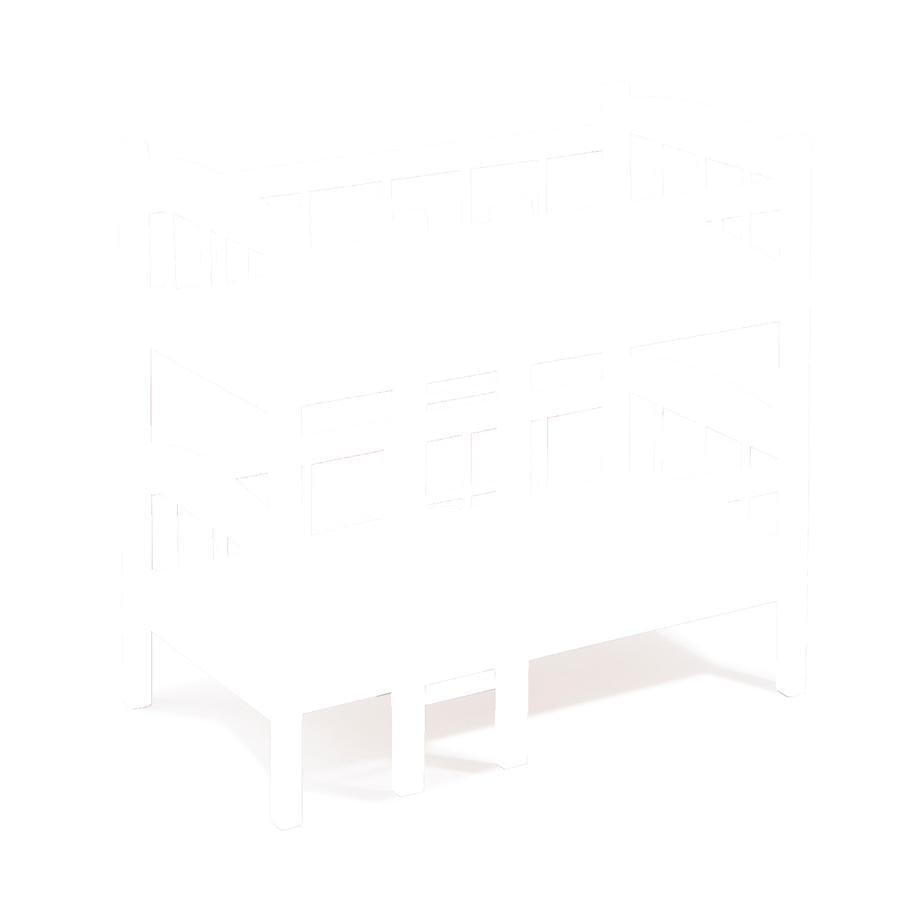 howa® Letto a castello per bambole rosa