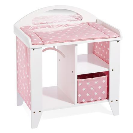 howa® Luiertafel voor poppen roze