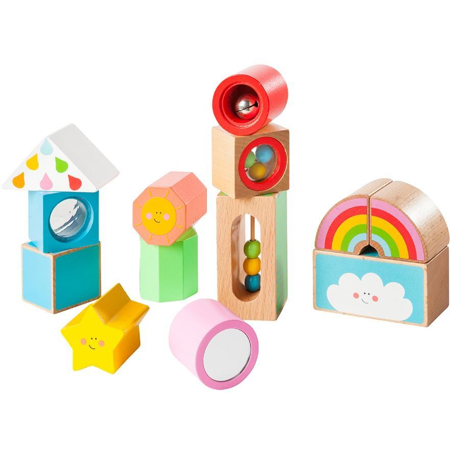 howa Kreativní stavební bloky My Rainbow 13-pcs.