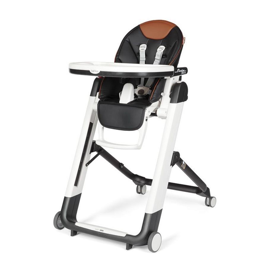 Peg-Perego Chaise haute bébé Siesta Follow Me ebony 2019