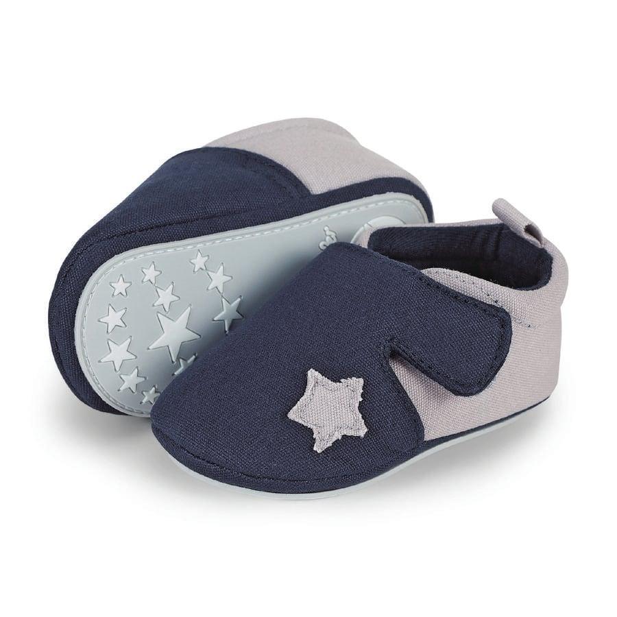 Sterntaler Boys Zapato para gatear, azul marino