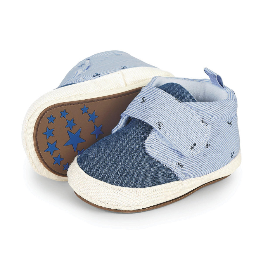 Sterntaler Boys Chaussure bébé, ciel