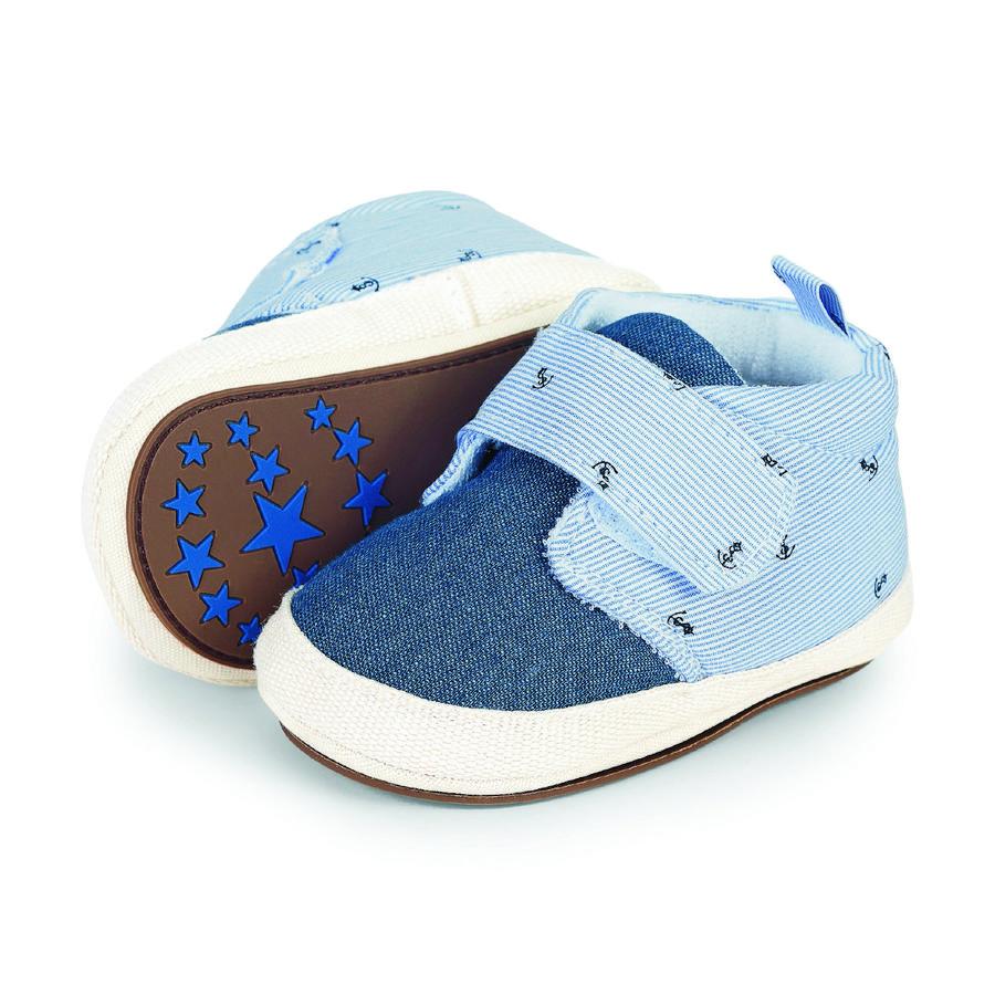 Sterntaler Boys Zapato de bebé, cielo